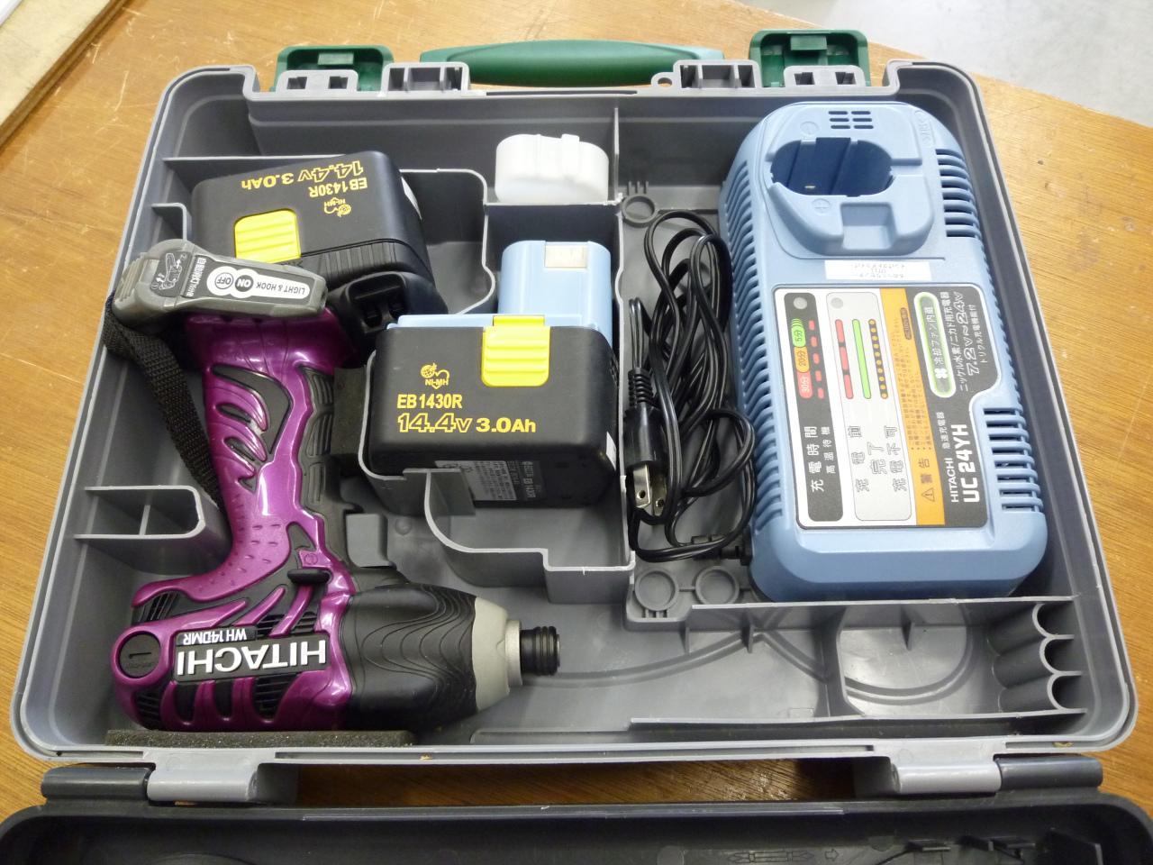 コードレスインパクトドライバー<br>Rechargeable Driver Drill